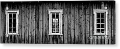 The School House Acrylic Print by Brad Allen Fine Art