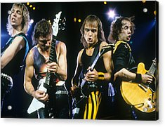 The Scorpions Acrylic Print by Rich Fuscia