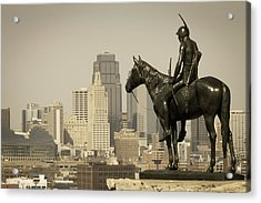 The Scout Kansas Ctiy Acrylic Print