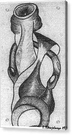 The Sculpture Award Acrylic Print