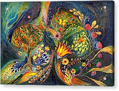 The Sea Garden Acrylic Print by Elena Kotliarker