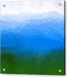 The Sea Is Deep Acrylic Print
