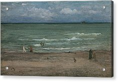 The Sea Acrylic Print by James Abbott McNeill Whistler
