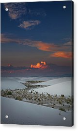 Acrylic Print featuring the photograph The Sea Of Sands by Edgars Erglis
