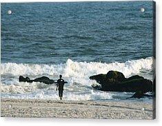 The Sea  Acrylic Print by Paul SEQUENCE Ferguson             sequence dot net