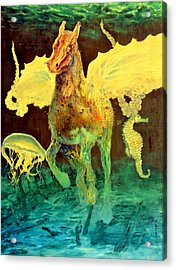 The Seahorse Acrylic Print