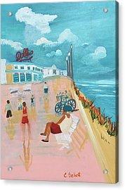 The Seaside Man Acrylic Print