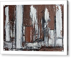 The Second View Acrylic Print by Karin Amtmann