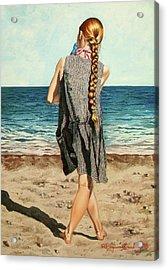 The Secret Beauty - La Belleza Secreta Acrylic Print