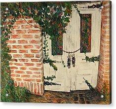 The Secret Garden Acrylic Print by Lois Guthridge