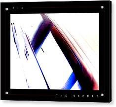The Secret Acrylic Print by Jonathan Ellis Keys
