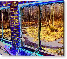 The Secret Window Acrylic Print