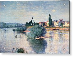 The Seine At Lavacourt Acrylic Print