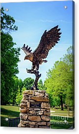 The Sentry At Honor Heights Park Acrylic Print