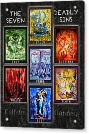 The Seven Deadly Sins Acrylic Print