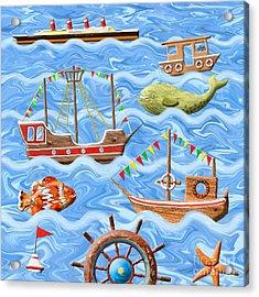 The Seven Seas Acrylic Print