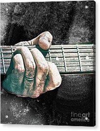 The Seventh Chord  Acrylic Print by Steven Digman