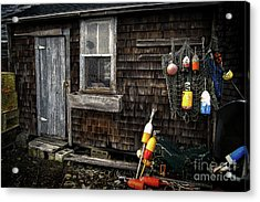 The Shack Acrylic Print by Scott Thorp