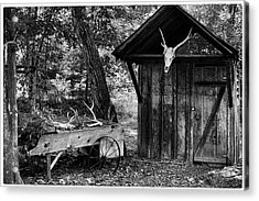 The Shack Acrylic Print by Wade Courtney