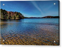 The Shallow Water Of 7th Lake Acrylic Print by David Patterson