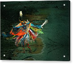 The Shaman Acrylic Print by Irma BACKELANT GALLERIES