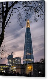 The Shard Acrylic Print by Glenn DiPaola