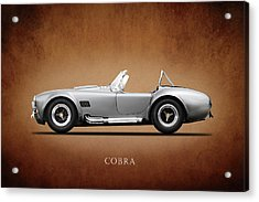 The Shelby Cobra Acrylic Print by Mark Rogan