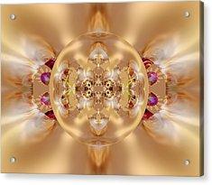 The Shine Of Satin Acrylic Print