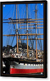 The Ship Balclutha Acrylic Print