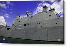 The Ship Is Huge Acrylic Print