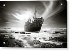 The Shipwreck Acrylic Print