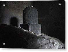 The Shiva Lingm  Acrylic Print by Chris Jurgenson