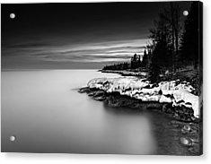 The Shore Acrylic Print by Mark Goodman