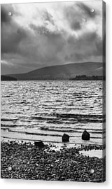 Acrylic Print featuring the photograph The Shores Of Loch Lubnaig by Christi Kraft