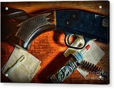 The Shotgun Acrylic Print by Paul Ward