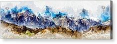 The Sierras Acrylic Print