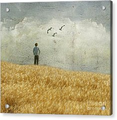 The Silence In Between Acrylic Print