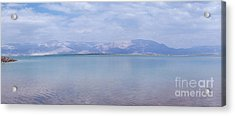 The Silence Of The Dead Sea Acrylic Print by Yoel Koskas