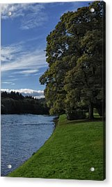 The Silvery Tay By Dunkeld Acrylic Print