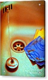 The Sink Acrylic Print by Silvia Ganora