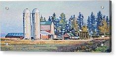 The Sipple Farm Acrylic Print by Larry Seiler