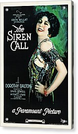 The Siren Call Acrylic Print by Paramount