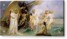 The Sirens Acrylic Print by Edouard Veith
