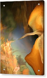 The Sixth Day Acrylic Print by Fred Pauli