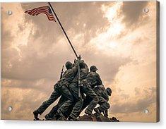 The Skies Over Iwo Jima Acrylic Print