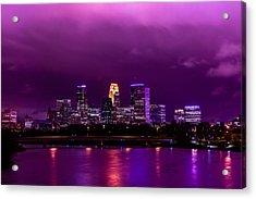 The Sky Was So Purple...  Acrylic Print by Mark Goodman