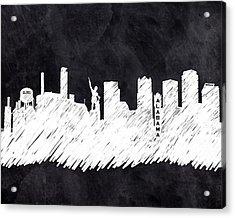 The Skyline - Birmingham - Alabama Acrylic Print