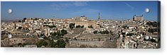 Acrylic Print featuring the photograph The Skyline Of Toledo Spain by Farol Tomson
