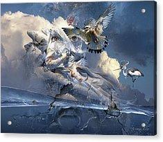 The Sleep Of Reason Produces Monsters Neo-surrealism Acrylic Print