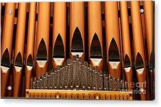 The Small Wall Organ Pipes...   # Acrylic Print